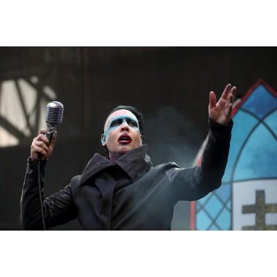 Marilyn Manson Cancela Conciertos tras Accidente