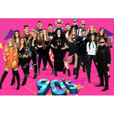 Los 90's Pop Tour llenan de música la Arena Ciudad de México